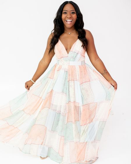 Are you ready for brunch or a girls' picnic? Grab this multi-colored dress #liketkit for your summer gal's event. http://liketk.it/3fxJV @liketoknow.it