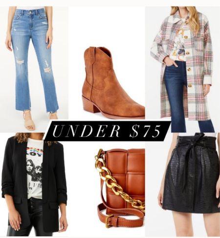 Under $75 plaid shacket fall fashion outfits   #LTKunder100 #LTKSeasonal