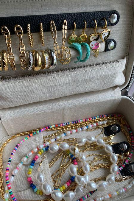 Jewelry organizer. Travel jewelry case. http://liketk.it/3gtqq #liketkit @liketoknow.it #LTKstyletip #LTKsalealert #LTKhome