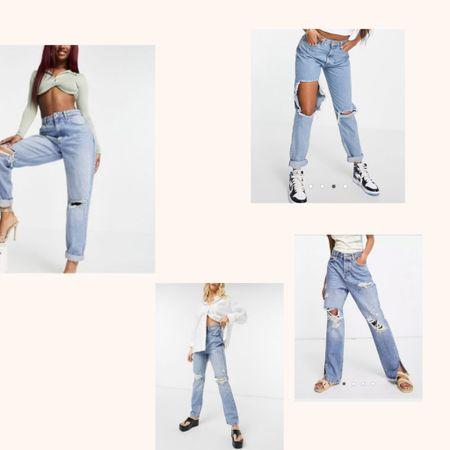 Jeans the perfect one!! 💙🌈  #LTKunder50 #LTKworkwear #LTKeurope