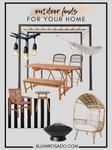 Patio | Outdoor Furniture | Outdoor Rug | Home Decor  #LTKSeasonal #LTKhome