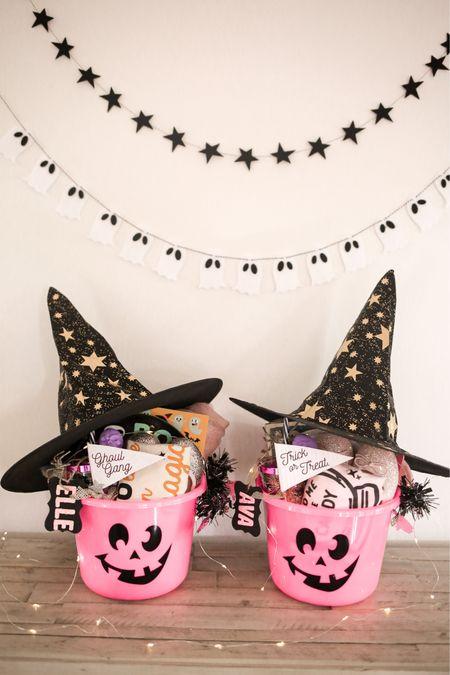 Boo baskets, Halloween, kids   #LTKfamily #LTKHoliday #LTKSeasonal