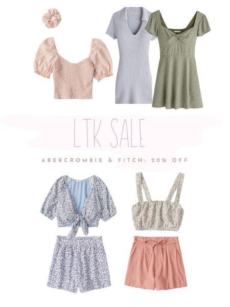 20% off Abercrombie & Fitch for LTK day  Dress, two piece set, & mismatch http://liketk.it/3hkL4 #liketkit @liketoknow.it #LTKDay #LTKunder100 #LTKsalealert