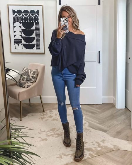 Rounding up my top statement boots for fall!! My all time favorite boot from ly, launched in a new color this olive plaid is on another level  Best designer boot ever .. Tory Burch lug boot  Fall outfit ideas at Nordstrom  Runs yay Free people off the shoulder tee sz small Jeans similar    #LTKunder100 #LTKstyletip #LTKshoecrush