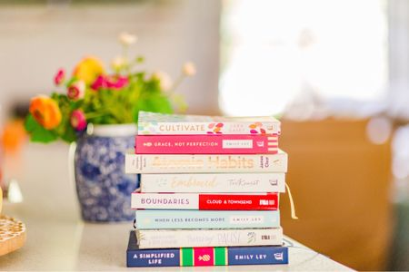 Some of my best inspiration for our simplified home + family rhythms have come from these books. Amazing picks for momprenuers!   #LTKunder100 #StayHomeWithLTK #LTKhome