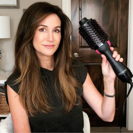 """Do you struggle when it comes to giving yourself a blow-out that looks as though you just stepped out of a hair salon? If yes, you might be interested to watch my review of the Revlon One-Step Hair Dryer & Volumizer to hear the pros, cons and tips I use when I dry my hair with this tool.    Years ago, I tried a hair dryer similar to this and it didn't work. Well, times have changed and @Revlon has created a hair tool that can smooth out wavy to curly hair. Be sure to check out my YouTube review. Click the link in my bio and select """"My YouTube Channel"""" to watch. 🎥   #revlon #revlonhairtools #revlononestephairdryerandvolumizer #longhair #longhairover40 #longhairover50 #stylinghair #hairover40 #longhairstyles #mnblogger #minnesotablogger #productreview #longhairdontcare #thisis50    http://liketk.it/2ZKPR #liketkit @liketoknow.it #LTKbeauty Follow me on the LIKEtoKNOW.it shopping app to get the product details for this look and others"""