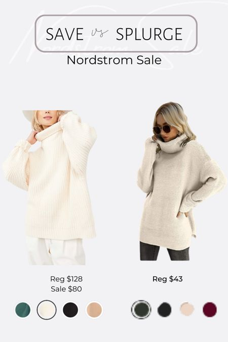 http://liketk.it/3jRFO #liketkit @liketoknow.it Nordstrom NSale favorite finds and dupes. Free people sweater, oversized sweater #LTKsalealert #LTKunder50 #LTKunder100