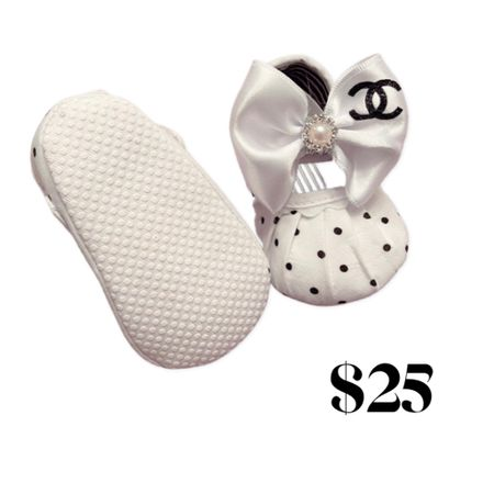 Chanel baby booties   #LTKfamily #LTKunder50 #LTKkids