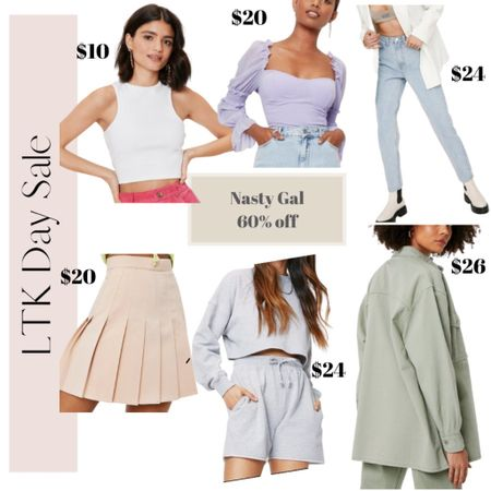 A few favorites from Nasty Gal's LTK Day sale! Everything is under $30! Summer outfits, beach vacation outfits http://liketk.it/3ha72 #liketkit #LTKDay #LTKunder50 @liketoknow.it