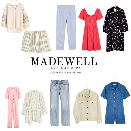 Cutest Madewell pieces, perfect for summer! Part of the LTK Day sale! @liketoknow.it #liketkit #LTKDay #LTKsalealert #LTKunder100 http://liketk.it/3hceR