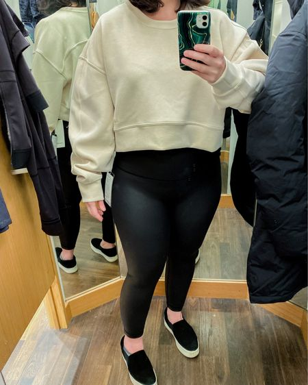 These are MUSTS from lululemon's Black Friday teasers. Faux leather pants? Yes please! http://liketk.it/32515 #liketkit @liketoknow.it Shop your screenshot of this pic with the LIKEtoKNOW.it shopping app #LTKgiftspo #LTKsalealert #LTKfit  #blackfriday