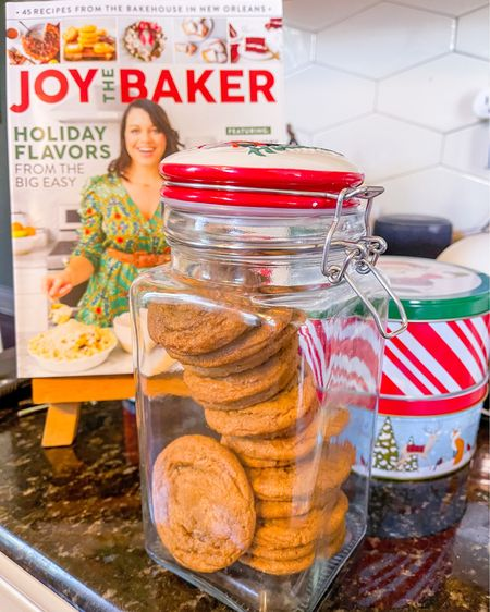 Last minute gift idea! 🎁🍪 Make a big batch of cookies and divvy up into cute tins or mason jars with a ribbon to drop off on friends' porches! Make it nice with your favorite recipe magazine or a heartfelt handwritten card to boot 🎅🏽 Do we really need anything else?!  I've linked all of my cookie baking tools here & some tins from Target I'm loving.  Stay calm this week. The presents will get wrapped in time. Enjoy these last moments of 2020 with reflection & family ❤️   http://liketk.it/34jxN #liketkit @liketoknow.it #LTKgiftspo #LTKhome #LTKunder50 @liketoknow.it.family @liketoknow.it.home