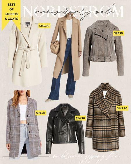 Nordstrom Anniversary sale jackets and coats   #LTKunder50 #LTKstyletip #LTKsalealert