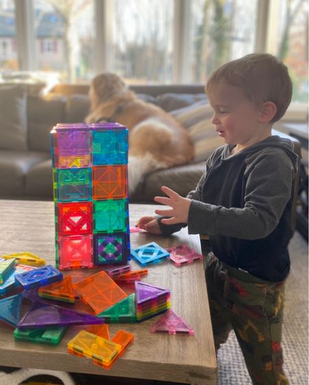 Love Picasso Tiles! Ryder has been playing with these for a year now and still loves them! Shop my daily looks by following me on the LIKEtoKNOW.it shopping app http://liketk.it/39M9L #liketkit #LTKfamily #LTKunder100 #LTKkids @liketoknow.it.home @liketoknow.it