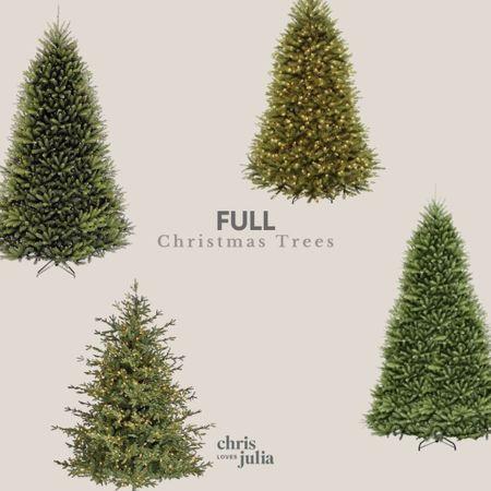 Favorite Full Faux Christmas Trees   #LTKhome #LTKHoliday