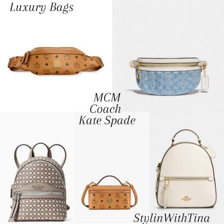 Designer handbags, luxury handbags I've been loving  #mcmbag#katespadebag#coachbag #handbags#fannypack#bumbags #backpacks#minibackpack#crossbody http://liketk.it/3gAIH @liketoknow.it   #LTKDay #LTKsalealert #LTKstyletip #LTKunder50 #LTKunder100 #LTKworkwear #LTKtravel #LTKitbag #LTKwedding #liketkit