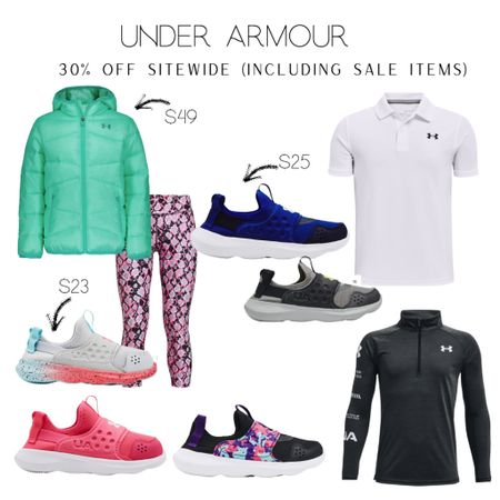 Save an extra 30% off Under Armour apparel with code OCT30!  Winter coat Kids coat School clothes Kids athletic wear Boys clothes  Kids clothing Kids apparel Target style holiday gifts, Amazon fashion sweater dress shacket Family photos Walmart finds booties Target finds winter style sweaters workout wear active wear amazon finds Apple Watch bands living room home decor wedding guest dresses Nordstrom Fall fashion  Halloween  #LTKfit #LTKsalealert #LTKkids