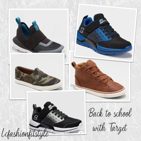 Back to school with @target I am LOVING these shoes for the little guys!   #LTKshoecrush #LTKsalealert #LTKkids