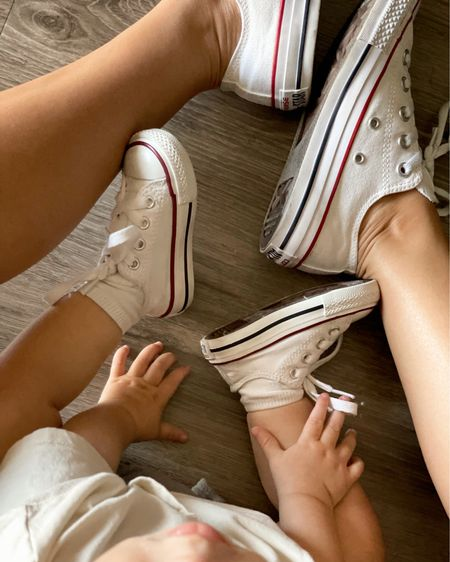 Who says you can't match with your boys? I grabbed some converse to match with my little babe! http://liketk.it/3iUjv #liketkit @liketoknow.it