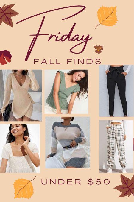 Fall Fashion Finds Under $50!! get your closet ready for fall! #fashion #fallfashion #LTKbacktoschool  #LTKunder50 #LTKSeasonal