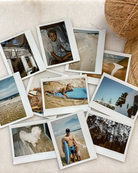 Used an actual Polaroid for these! So fun!   #LTKfamily #LTKtravel #LTKswim