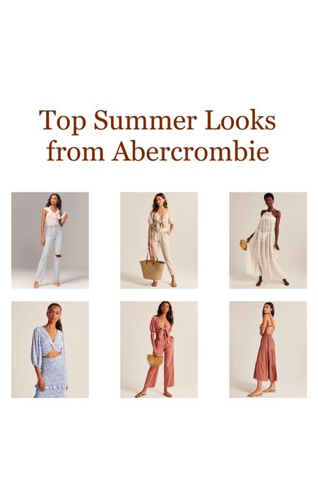 Some Abercrombie cuties still available but selling fast! ✨ I usually size up in everything. http://liketk.it/3eGNx #liketkit @liketoknow.it #LTKunder100 #LTKtravel #LTKstyletip #vacation #tropical #summer #getaway #summerlooks #vacationstyle #dress #wideleg #croptop #coverup #maxidress #summersets