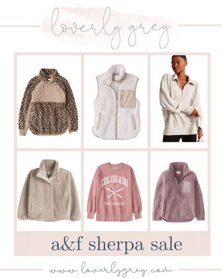 Abercrombie sherpa sale