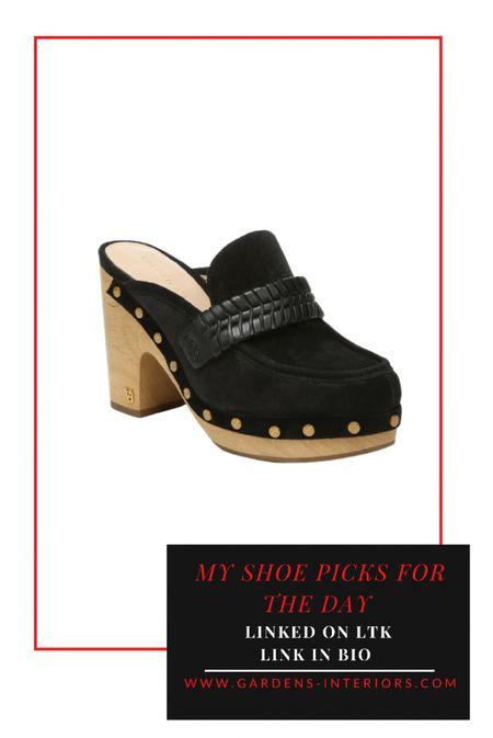 Veronica Beard Delis Clog   #falloutfits #fallshoes #clogs   #LTKshoecrush #LTKstyletip #LTKSeasonal