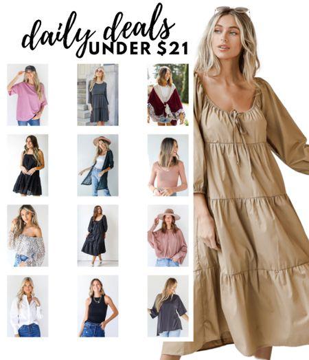 Daily deals under $21 from Shop Dress Up  #LTKunder50 #LTKsalealert #LTKworkwear
