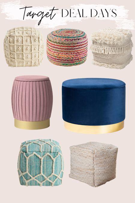 Target Deal Days sale in furniture & floor poufs http://liketk.it/3i65V @liketoknow.it @liketoknow.it.home #liketkit #LTKhome #LTKsalealert #LTKunder100