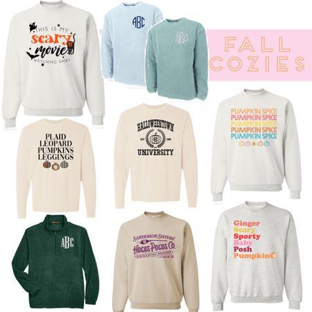 Fall sweatshirt sale pumpkin spice spice girls cozy lounge wear