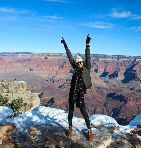 Grand Canyon winterwear!   #LTKstyletip #LTKtravel #LTKsalealert