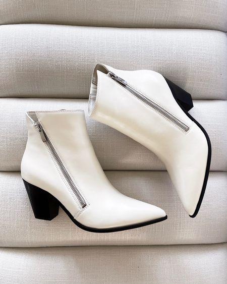 Nordstrom's, Lia Bootie, White bootie, fall fashion #StylinbyAylin  #LTKshoecrush #LTKstyletip