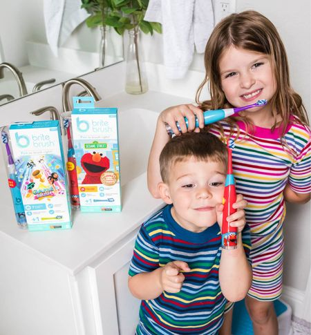 Tired of fighting over brushing your teeth? This BriteBrush is making dental hygiene fun! It's an interactive smart brush that plays games and teaches kids how to effectively brush their teeth in a fun way! Learn all about it on ModernMomLife.com now. (Ad)   #LTKfamily #LTKkids