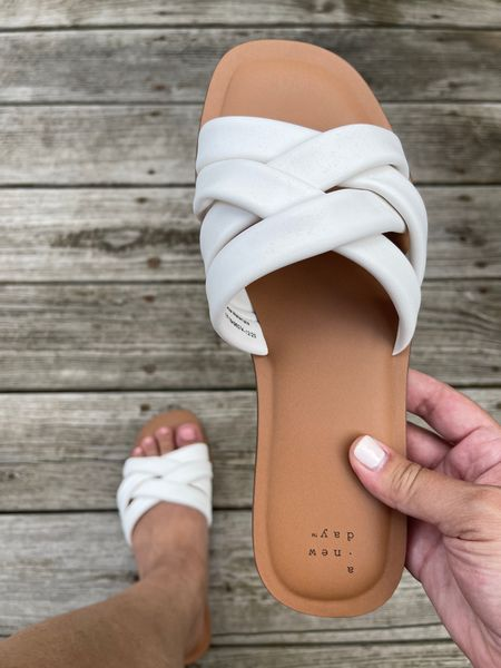 Target Women's Rory Padded Slide Sandals - A New Day   http://liketk.it/3gn0k #liketkit @liketoknow.it   #LTKshoecrush #LTKunder50 #LTKstyletip