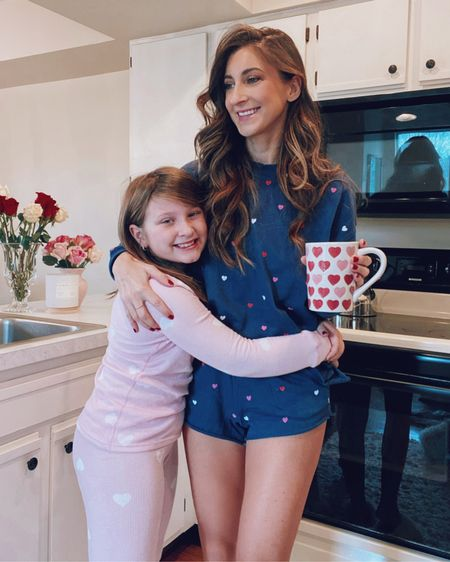 Spreading a little love today with our heart pajamas💕 #liketkit #LTKunder50 #LTKfamily @liketoknow.it http://liketk.it/35u8d