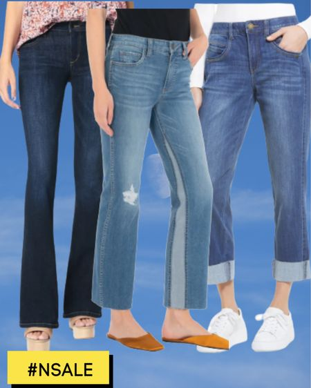 Nordstrom has the best figure fixing jeans. Now's the time to get a pair in the #nsale #nordstromanniversarysale #curvyjeans #tummytuckjeans  JOE'S jeans the honey curvy bootcut. Great for curvy.  Kut from the Kloth fab ab insert flare jean.   Wit & Wisdom Ab solution high rise jean.    #LTKsalealert #LTKstyletip #LTKcurves