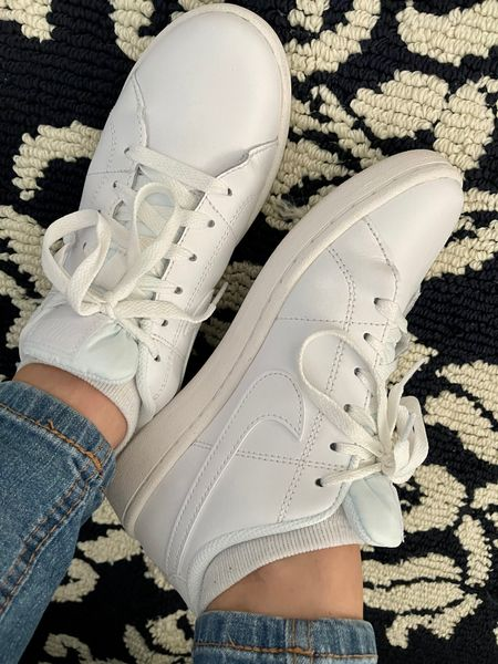 New white casual sneakers. Can be worn with shorts, dresses and so on!   @liketoknow.it http://liketk.it/3cYnz #liketkit #LTKunder100 #LTKshoecrush #LTKstyletip