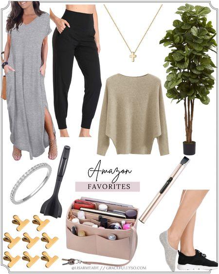 Amazon FAVORITE finds from over the years 💗  . . . #PurseOrganizer #Organize #Organization #Sweaters #Sweater #Necklace #Amazon #FauxTree #noshowsocks #home #homeorganization #homedecor #fall #fallstyle #dresses #joggers #amazonfinds #amazonfashion #cooking #kitchen #socks #rings #jewelry  #LTKbump #LTKhome #LTKunder50