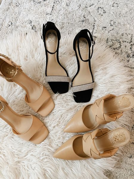 """The prettiest shoes for the holidays! Take 25% off your Vince Camuto Purchase with code """"fall25""""!   #LTKSeasonal #LTKshoecrush #LTKHoliday"""