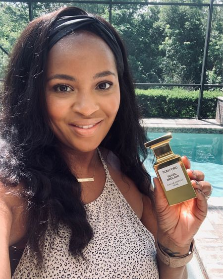 I'm reviewing Tom Ford Soleil Brulant on my YouTube channel today! This fragrance has been on my radar since I saw the very first promo photos! Go check out my review and let me know what you think! Is it on your wishlist?  #tomfordsoleilbrulant #bgwgs #blackgirlssmellgood #fragranceblogger #perfumelover #LTKbeauty Shop your screenshot of this pic with the LIKEtoKNOW.it shopping app http://liketk.it/3dunz #liketkit @liketoknow.it
