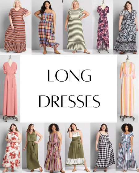 Request: long dresses! So many to choose from! Here are just a few. :)  #LTKcurves #LTKstyletip #LTKSeasonal