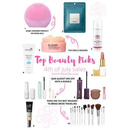 Beaty sales. Tarte cosmetics. Mascara. Face wash. Makeup brushes. Face masks. Foundation.   #LTKbeauty #LTKsalealert #LTKunder50