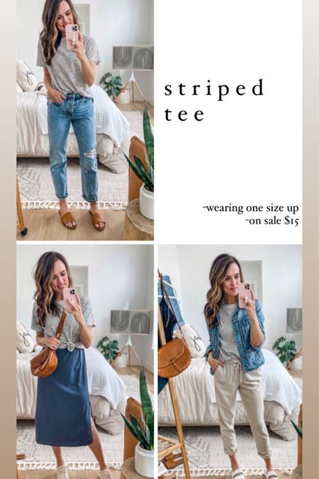 Old Navy spring capsule wardrobe! -shirt: one size up -dress: reg size -linen pants (love!): reg size   http://liketk.it/3bh6f #liketkit @liketoknow.it #LTKsalealert #LTKstyletip