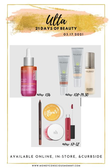 Today's Beauty Steals! 50% off!  #strivectin #juicebeauty #persona #beautybakerie #mented   #LTKSpringSale #StayHomeWithLTK #LTKbeauty