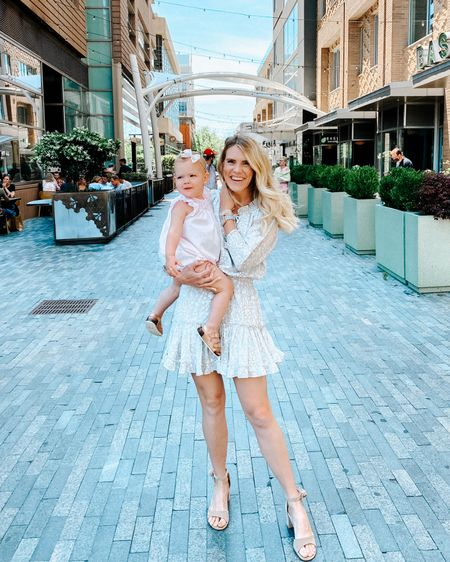 Mother's Day brunch with my mini! This dress would be the perfect wedding guest dress! http://liketk.it/3eSZp #liketkit @liketoknow.it #LTKwedding