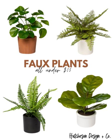Faux plants are a staple item for home decor & can be added to just about any space! They add a natural color & texture to the room, plus they don't die... #win/win 🌱 • Here are four of our favorite faux plants, all under $15! •  http://liketk.it/2YKPo #liketkit @liketoknow.it #LTKhome #LTKstyletip #LTKunder50 @liketoknow.it.home Follow me on the LIKEtoKNOW.it shopping app to get the product details for this look and others