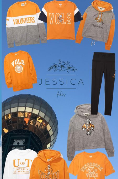 It is (almost) football time in Tennessee! For my fellow Vol fans, here are some super cute tops (and some leggings) that will get you ready for game day!