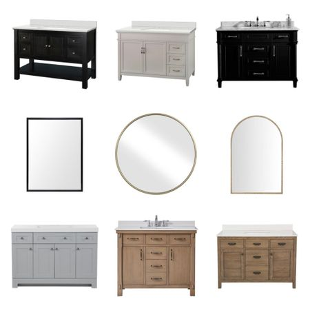 Home Depot delivers when it comes to bathroom remodels! Check out these beautiful pieces🙌    You can instantly shop my looks by following me on the LIKEtoKNOW.it shopping app  http://liketk.it/3799o #liketkit @liketoknow.it #LTKhome #LTKsalealert