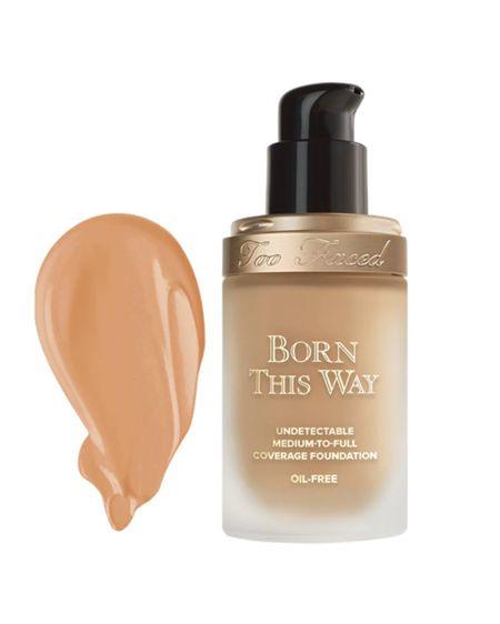 Born this way medium to full coverage foundation - I use shade Nude http://liketk.it/3gnWh #liketkit @liketoknow.it #makeup